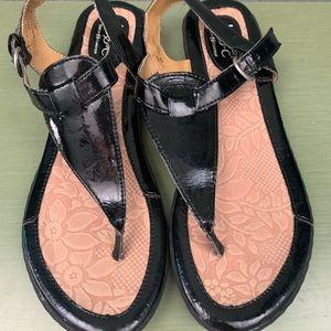 Born sandals.  Size 8